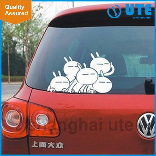Cheap Custom Car Sticker Manufacturer Vinyl Car Sticker For Car - Custom car decal advertising