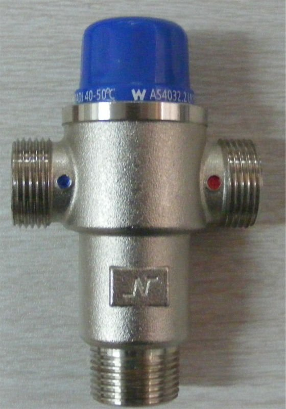 "3/4"" brass 3 way mixing valve (selector valve)"