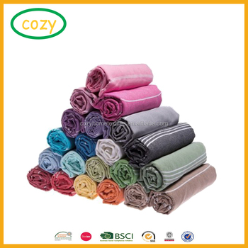 9262204016 Multi Colored Striped Cotton Peshtemal Turkish Bath Towel and Turkish Towels  Beach Towel for Beach Bath