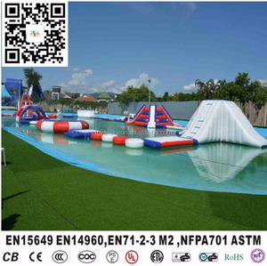 inflatable water obstacles,inflatable pool obstacle,inflatable floating obstacle
