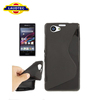 S Line TPU Gel case for Sony Xperia Z1 Mini, for Sony Xperia Z1 mini wave gel case,fast delivery---LAUDTEC