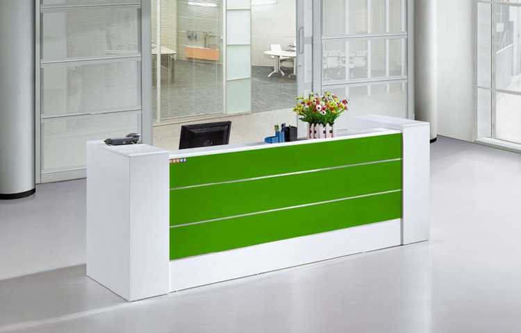 High end office furniture white cheap small modern office front ...