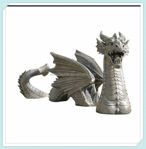 Home decoration vintage resin dragon