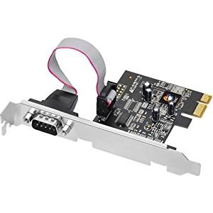 "Siig, Inc - Siig 1-Port Pci Express Serial Adapter - 1 X 9-Pin Db-9 Male Rs-232 Serial Pci Express - 1 Pack ""Product Category: I/O & Storage Controllers/Serial/Parallel Adapters"""