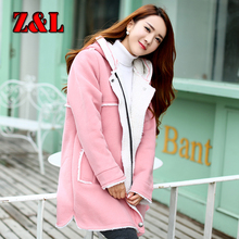HOT Autumn winter fashion maternity clothes hooded plus velvet thick jacket for pregnant women double pocket