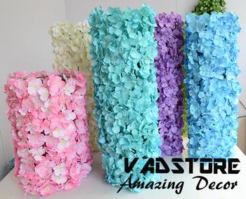 Moda variabile artificiale tappeto di fiori ortensia fiore