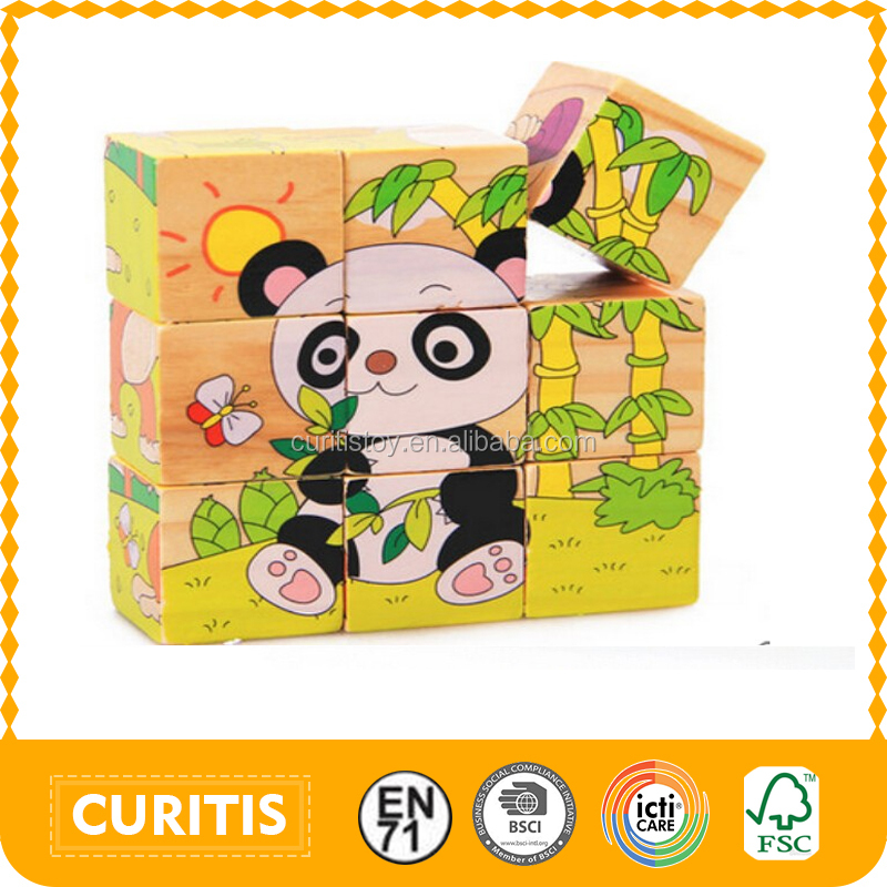 Promotional 9 Pcs Children's Educational Toys Games Kids Cube ...