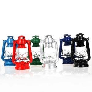 Classics Table Decoration Retro Handmade Camping Light Lantern High Quality Glass Kerosene Lamp