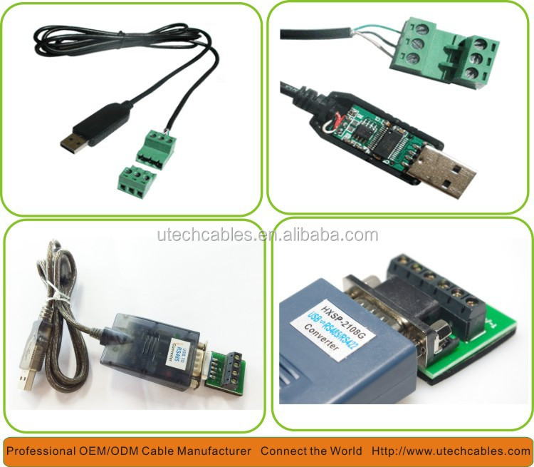 Ft232r Usb Rs485 Converter,Panel Mount Ftdi Usb To Rs485 Cable ...