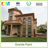 Environmental friendly liquid no toxic exterior wall paint multicolor granite painting in China