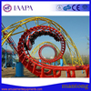 Amusement parkEquipment the mid-3-loop Roller Coaster for sale