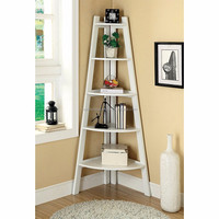 Best seller sets 2017 wooden white exquisite hollow out storage wall mount corner shelf