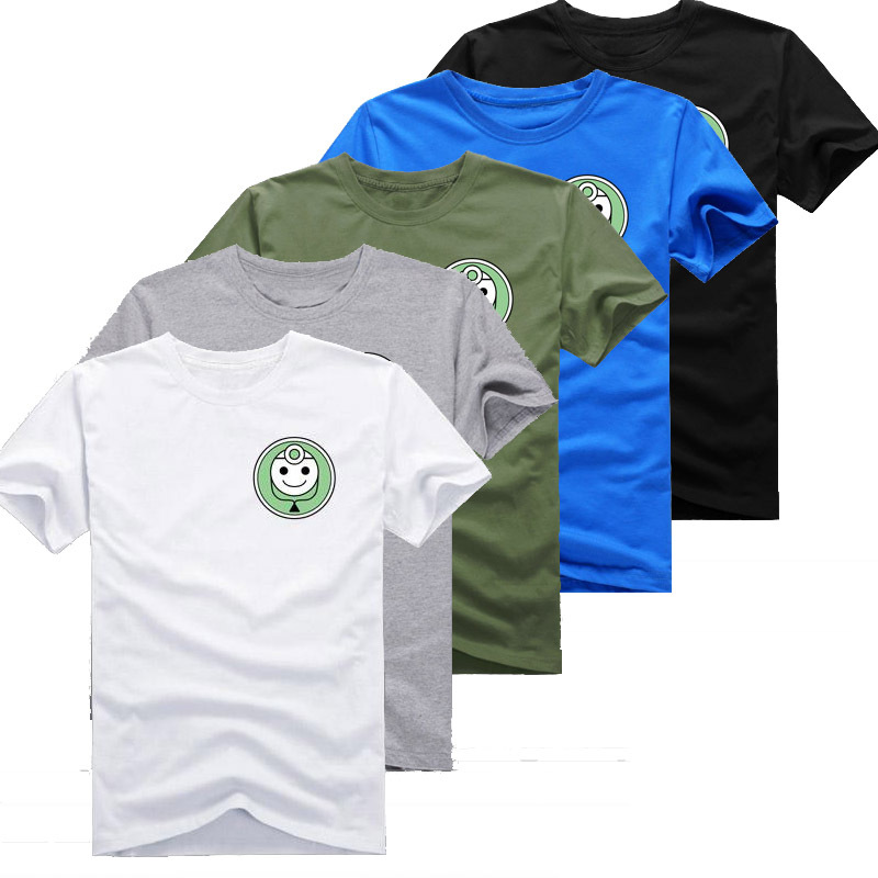 2015 Mens Casual Summer Big Hero 6 Baymax T-shirts Printed Pattern 100% Cotton Short Sleeve Tops Tee Shirts 5 Styles