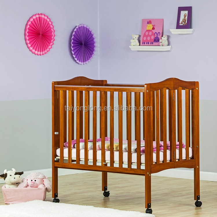 Astm Safety Standard Wooden Adult Crib Christmas Crib Baby