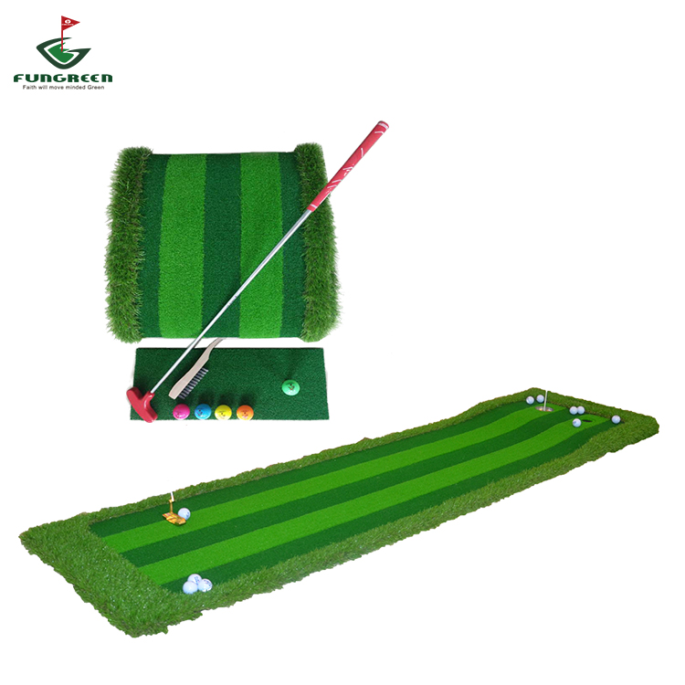 PGA Official Customized Golf Putting Practice Green Mat Indoor Putter Training Golf Green