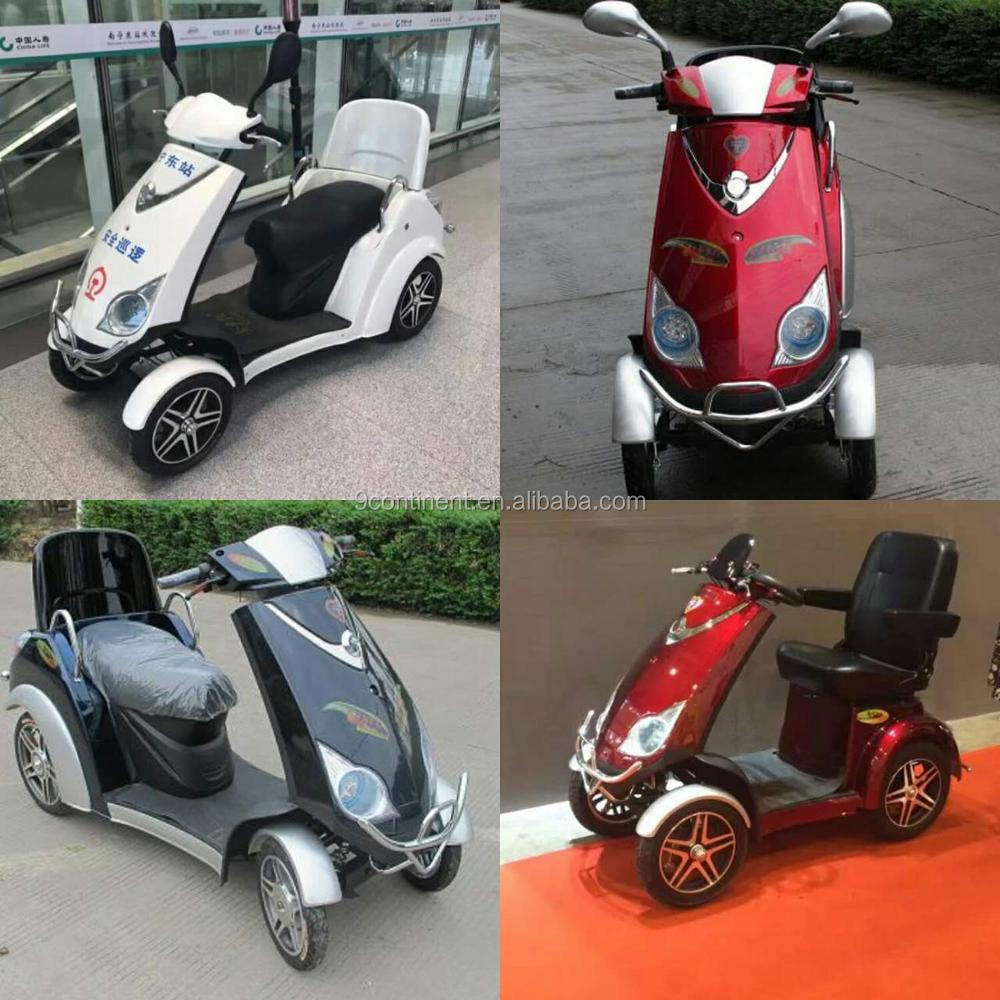 chinese cheap adult electric motorcycle, cheap 4 wheel electric scooter