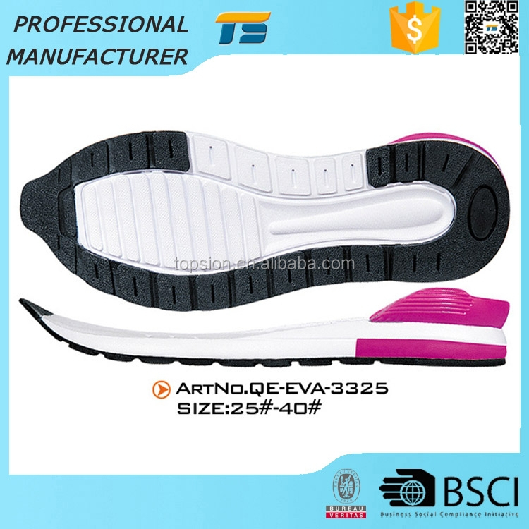 Shock Absoption Molded Kids Outsoles For Sport Shoes Sole Eva And Tpr