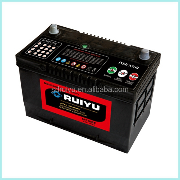2016 65D31R JIS 12v battery in motor parts accessories from alibaba