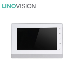 Linovision Intercom-In20 7-inch Color Indoor Monitor of POE IP Network Intercom for Villa