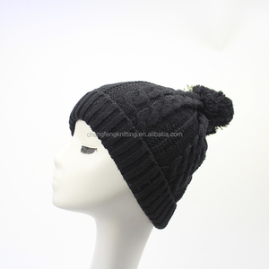 58954e541ea 100 Acrylic Knitted Cap
