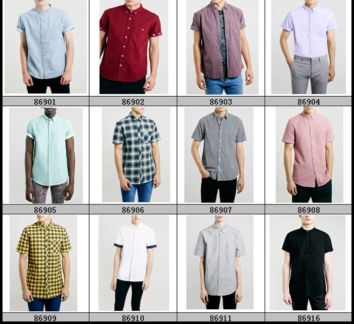 New Style Different Types Shirts Men With Short Sleeve Buy