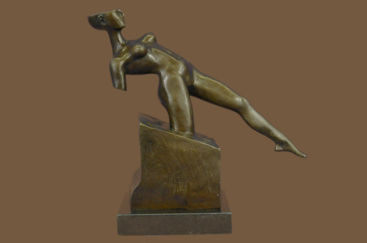 ...Handmade...European Bronze Sculpture Abstract Erotic Sensual Nude Woman By Rodin Modern Art (1X-DS-566) Bronze Sculpture Statues Figurine Nude Office & Home Décor Collectibles Sale Deal Gifts