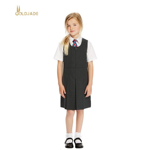 27eca8eb3bc Plus Size School Uniform Design Girls High School Uniform - Buy School  Pinafore Dress