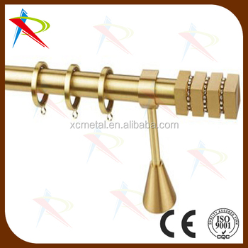 gold greece crystal tension curtain rod buy tension commercial curtain rods gold window. Black Bedroom Furniture Sets. Home Design Ideas