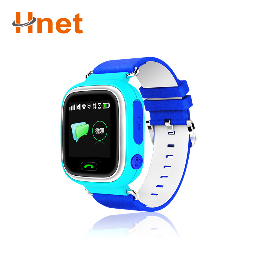 400mah battery 3g smart watch phone android ios GPS tracking watch