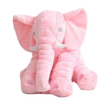 Free sample Cute Colorful plush and stuffed elephant toys with big ears