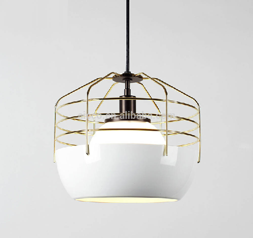 niche modern lighting. china supplier niche modern lighting colorful metal cage led pendant