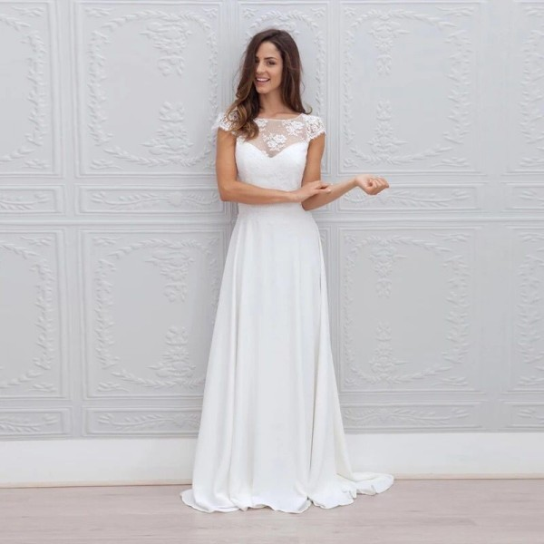 Grossiste Robe Mariée Blanche Plage Acheter Les Meilleurs