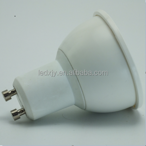 No flicker 5W dimmable led gu10 pin spot light lamp