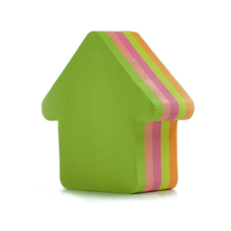 Cute arrow shape color mixture sticky note
