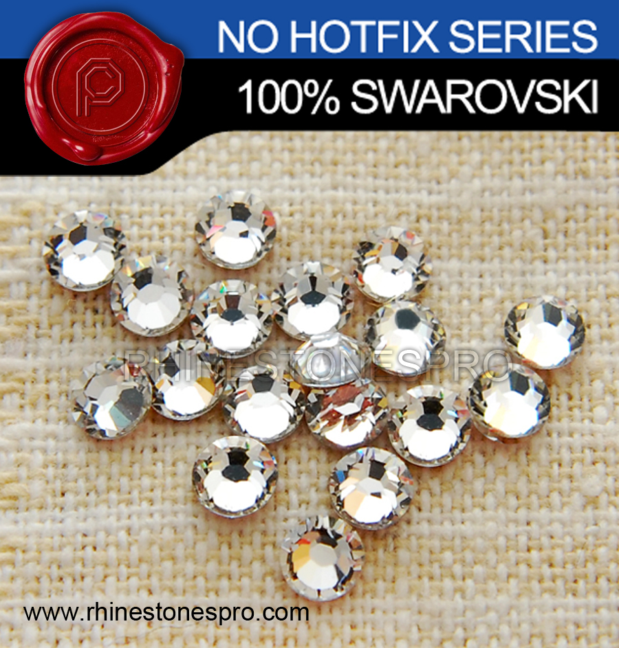 Cristallo Swarovski Elements no hotfix ss7 (001) 12-piece (1 dozen) Del Campione