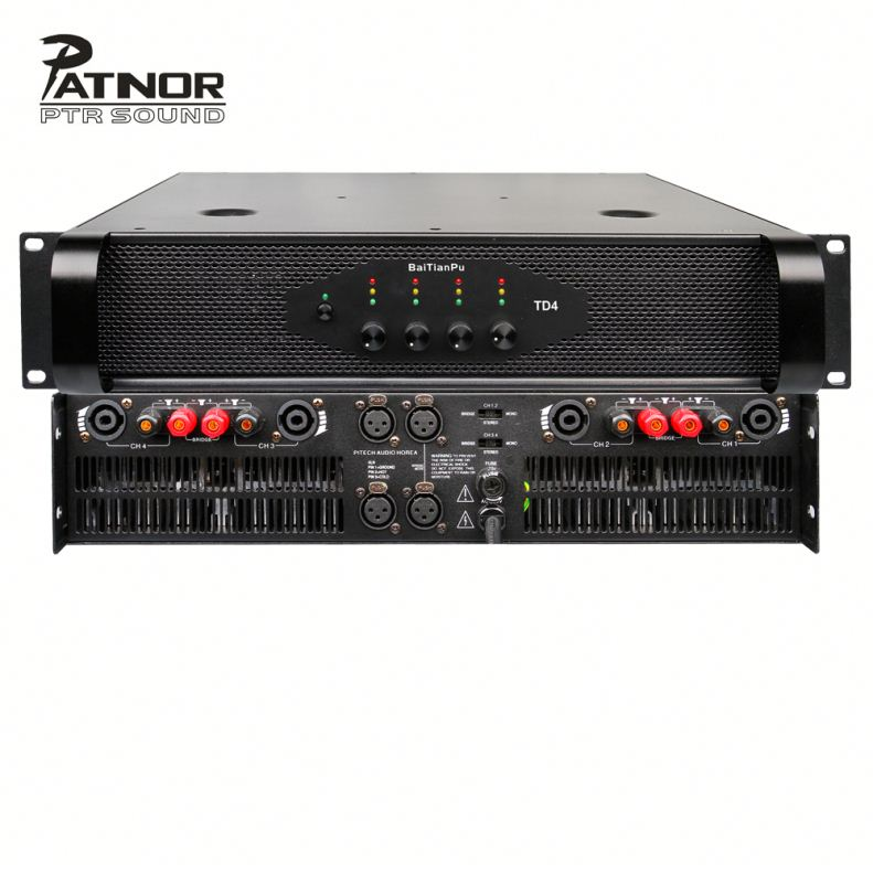 Jual 5 2 Saluran 80W Suara Profesional 4000W Power Amplifier