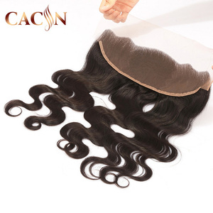 wholesale price Brazilian body wave natural hair line pre plucked lace frontal,Natural Wave 8A Grade Cuticle Aligned hair