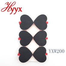 HYYX Wooden Blackboard Photo Clip Notes Card Holder Decorative Paper Clamp Wholesale