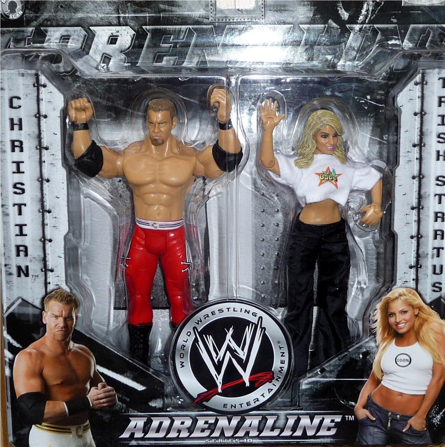 WWE Figura WRESTLING TRISH STRATUS DIVAS WWF JAKKS