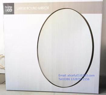 Décor à La Maison Diamètre 80 Cm Grand Décoratif En Métal Miroir