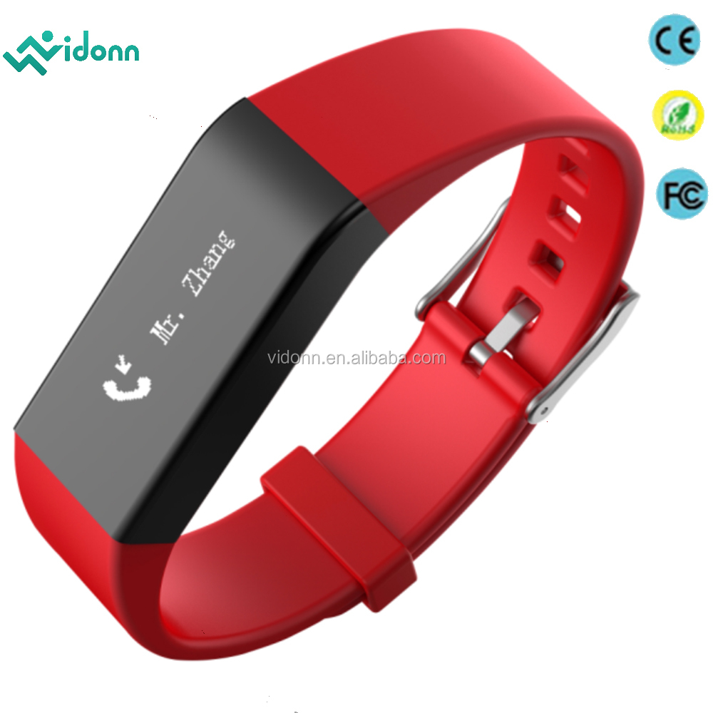 Fitness Activity Tracker Smartband Sport Smart Bracelet free customized logo