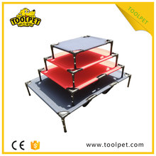 Foldable Serviceable pet bed accessories plastic dog beds