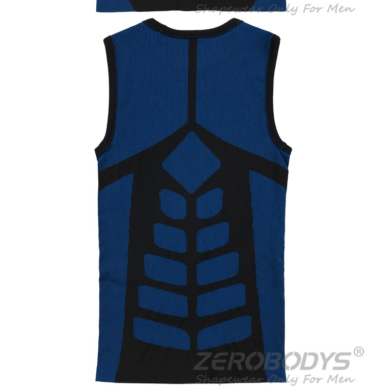 394 BU ZEROBODYS Outdoor Quick Dry Bicolor Training Vest Tank Fitness Vest Men Vest Sport Tanks Jogging Men Cropped Tops