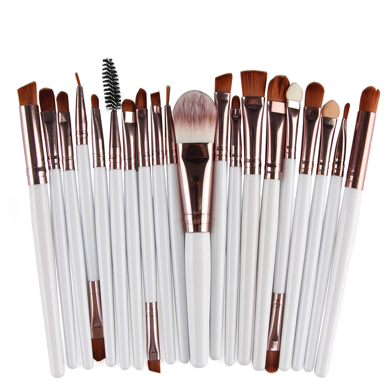 20Pcs professional private label makeup brush set