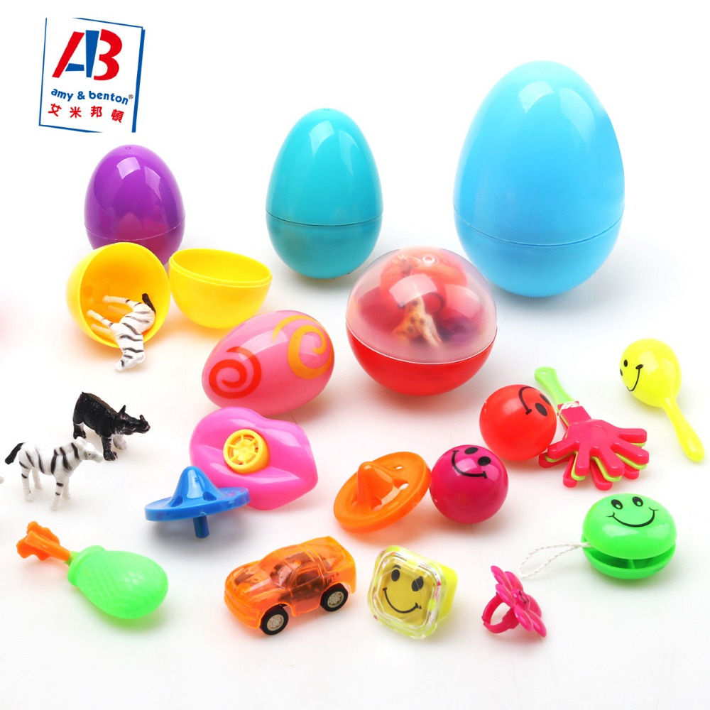 2018 hot toys wholesale surprise egg party favor assortment toy capsule toys in bulk