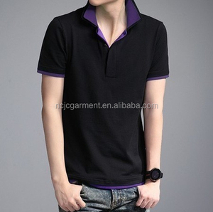 slim fit polo shirt for teenager cool clothes summer hot sale china clothing supplier