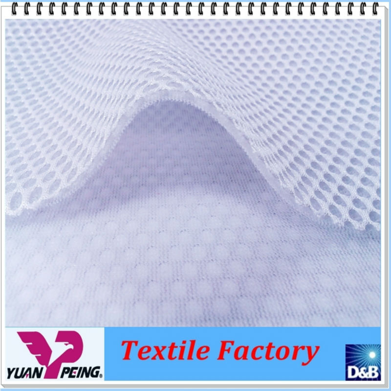 Soft Touch 3d Warp Knit Spacer Mesh Fabric