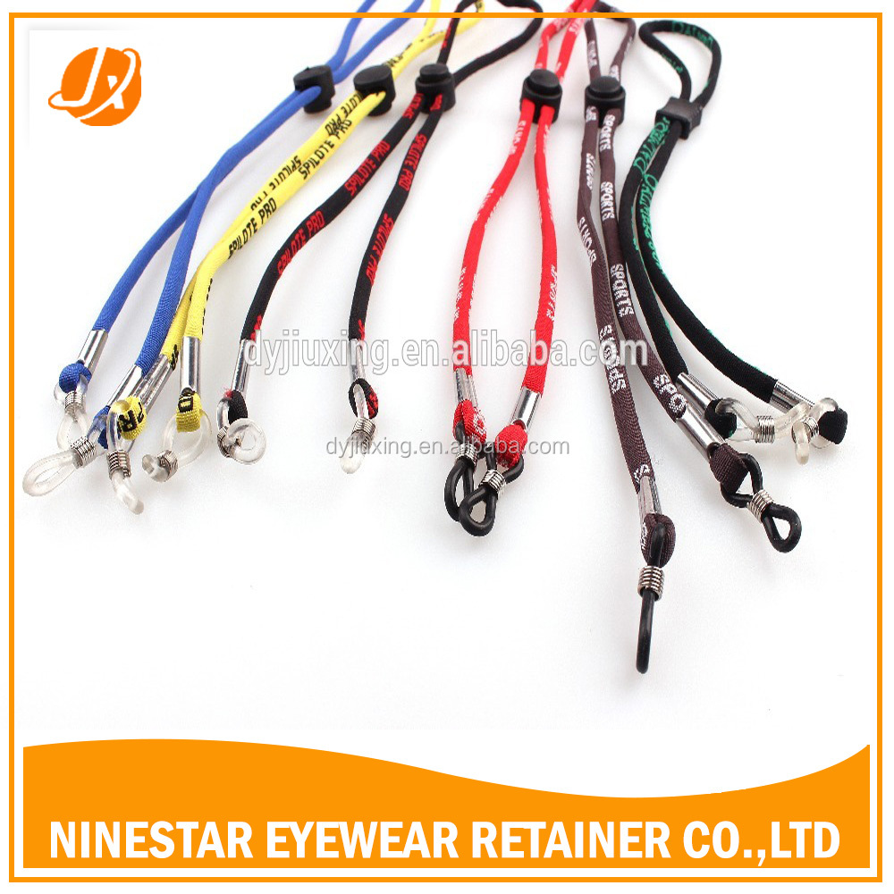 hot sale 5mm Universal Fit Rope adjustable Eyewear Retainer sports glasses strap adjustable eyewear rope
