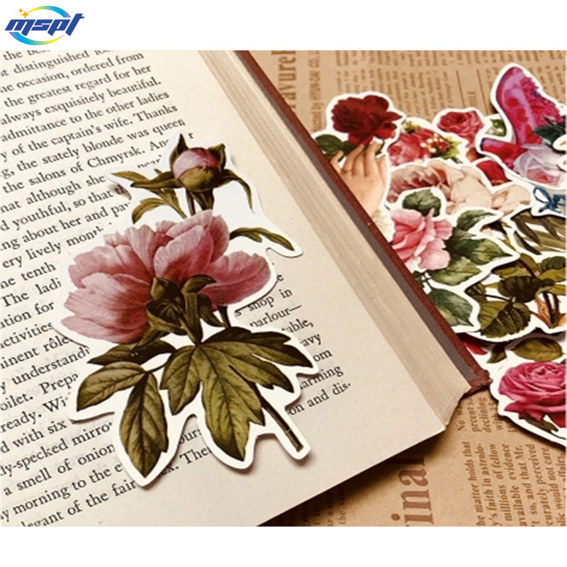 Flower vinyl decal stickers, Die cut decal bumper stickers for window, car, truck, laptop, etc.