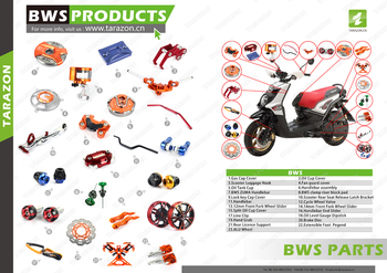 Wholesale and custom made cnc scooter parts, View scooter part, TARAZON  Product Details from Wuxi Ruili Metal Product Co , Ltd  on Alibaba com